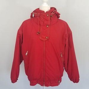 Bogner Magic Moves Red Winter Jacket Women's Sz 6